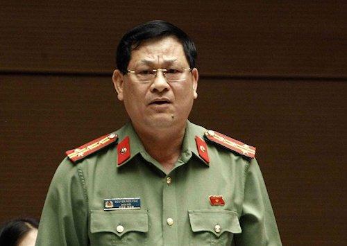 Ông Nguyễn Hữu Cầu - Giám đốc Công an tỉnh Nghệ An