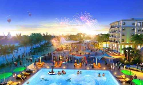 Dự án sở hữu loạt tiện ích đẳng cấp, đa dạng, phục vụ nhu cầu giải trí, nghỉ dưỡng chất lượng cao cho du khách trong, ngoài nước.