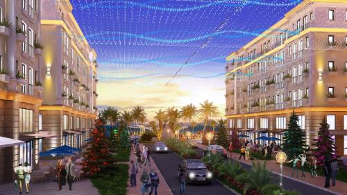 Hamptons Plaza định hướng trở thành khu du lịch nghỉ dưỡng đẳng cấp quốc tế.