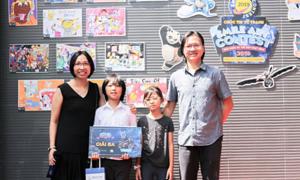 Cuộc thi vẽ Smile Art Contest 2019 quy tụ 400 họa sĩ nhí