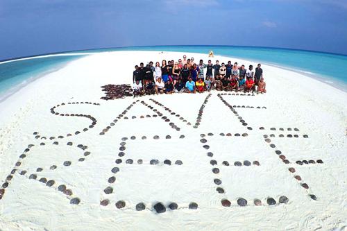 Năm 2018, hơn 2.400 cá thể rùa được thả tự do ra biển trong dự án bảo vệ môi trường sống của tập đoàn Banyan Tree.