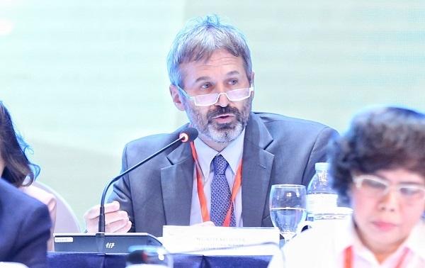 Ông Kyle Kelhofer, Giám đốc khu vực cấp cao IFC Việt Nam, Campuchia và Lào.