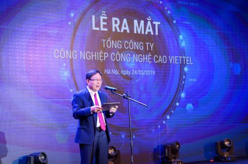 Thiếu tướng Lê Đăng Dũng, quyền Chủ tịch kiêm Tổng Giám đốc Tập đoàn Viettel.