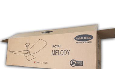 Royal Home chi tiền tỷ làm thùng giấy thân thiện môi trường