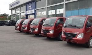 TMT ra mắt dòng ôtô tải thân thiện môi trường