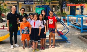 Cashwagon xây dựng khu vui chơi cho trẻ em Long An