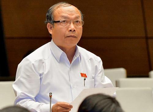 Ông Đinh Duy Vượt - đại biểu Quốc hội tỉnh Gia Lai. Ảnh:Cổng thông tin Quốc hội