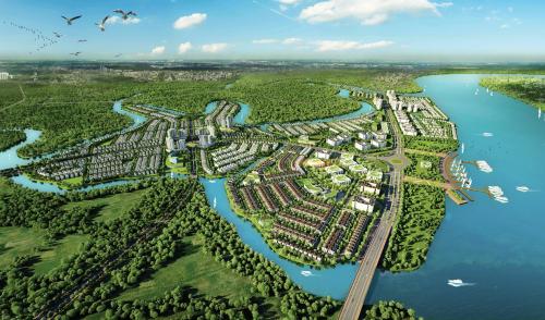 Aqua City gồm tổ hợp nhà phố, biệt thự đơn lập, biệt thự song lập, shophouse cùng chuỗi tiện ích nội khu hiện đại như trung tâm thương mại, trường học, khu vui chơi giải trí, thể dục thể thao... Dự án quy hoạch chuẩn mực, theo đuổi xu hướng sống xanh thông qua ứng dụng các giải pháp công nghệ xanh