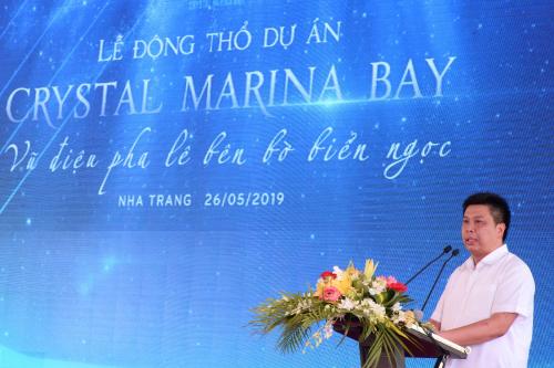 Ông Nguyễn Đức Chi - Chủ tịch Hội đồng quản trị, Tổng giám đốc Tập đoàn Crystal Bay.