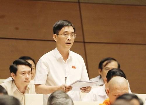 Ông Hoàng Quang Hàm - Uỷ viên thường trực Uỷ ban Tài chính ngân sách. Ảnh: Cổng thông tin Quốc hội