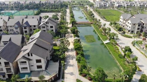 Phối cảnh Sunny Garden City -một trong những khu đô thị xanh được đầu tư hạ tầng và tiện ích đồng bộ phía Tây Hà Nội.