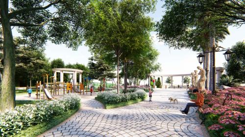 Khu đô thị phức hợp đồng bộ, hiện đại được nhiều khách hàng lựa chọn.