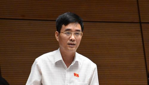 Đại biểu Hoàng Quang Hàm. Ảnh: Cổng Thông tin Quốc hội