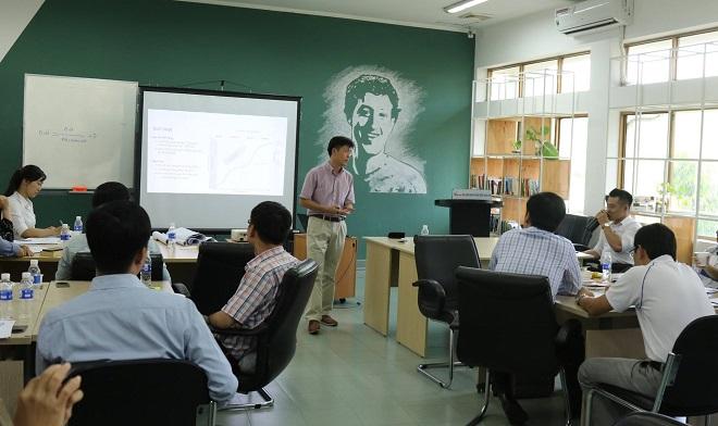 Khóa đào tạo từng được tổ chức năm 2018 với sự tham gia của đông đảo học viên. Ảnh: ITP