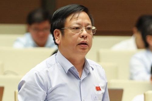 Ông Nguyễn Trường Giang - Uỷ viên thường trực Uỷ ban Pháp luật. Ảnh: Trung tâm báo chí Quốc hội