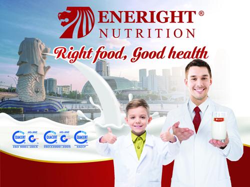 Eneright Việt Nam là một trong những hương hiệu sữa hàng đầu với mục tiêu vì sức khỏe người Việt.