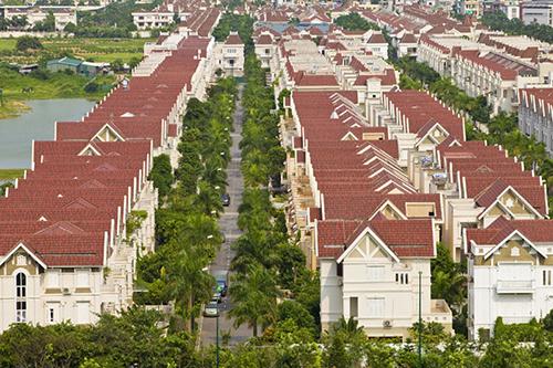 Một góc khu đô thị Ciputra đã được bàn giaocho cư dân sinh sống. Ảnh: CĐT