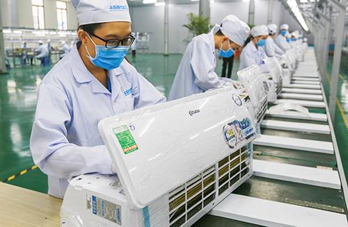 Asanzo vừa vận hành nhà máy mới tại qu65n 9, TP HCM để áp ứng nhu cầu máy lạnh tăng cao trên thị trường.