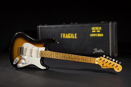 Chiếc guitarFender Stratocaster 1956 tên