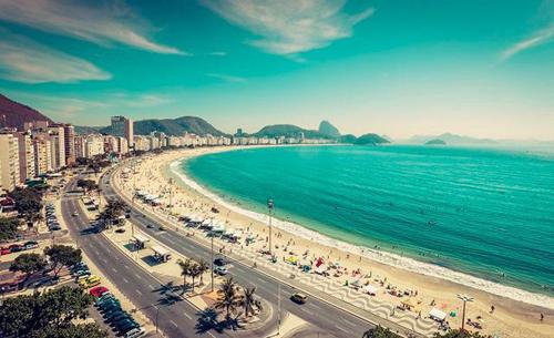 Hầu hết các second home hấp dẫn tại Brazil đều nằm dọc bờ biển. Ảnh: Forbes.