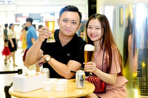 chất lượng bia giúp mọi người kéo dài và lưu giữ cảm xúc theo cách trọn vẹn nhất.