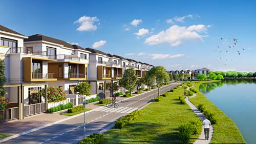 Aqua City gồm tổ hợp nhà phố, biệt thự đơn lập, biệt thự song lập, shophouse cùng chuỗi tiện ích nội khu hiện đại như trung tâm thương mại, trường học, khu vui chơi giải trí, thể dục thể thao...