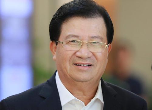 Phó thủ tướng Trịnh Đình Dũng. Ảnh: Hoàng Phong