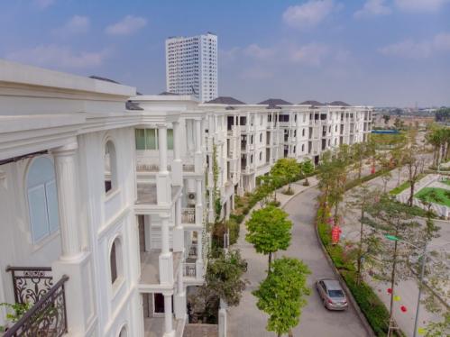 Phối cảnh dự án khu đô thị Bách Việt.