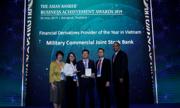 MB nhận giải 'Ngân hàng cung ứng sản phẩm phái sinh tài chính'