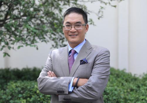Ông Paul George Nguyễn - Tổng giám đốc Aviva Việt Nam. Ảnh: Hữu Khoa