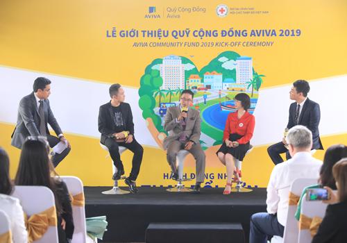 Lễ giới thiệu Quỹ Cộng Đồng Aviva diễn ra vào đầu tháng 5. Ảnh: Hữu Khoa.