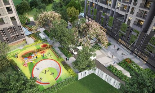 Dự án tích hợp hơn 25 tiện ích nội khu cho cuộc sống thêm tiện nghi.