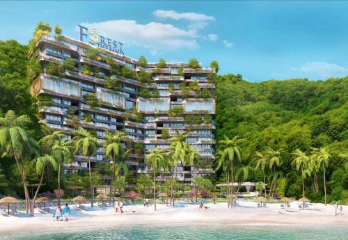 Forest on The Sand -Flamingo Cát Bà Beach Resort sắp hoàn thành