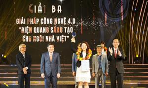 Điện Quang nhận giải thưởng sáng tạo TP HCM