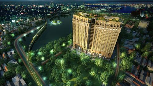 Dự án D'. Le Pont D'or của Tân Hoàng Minh lọt vàoTop 10 khu nhà ở đáng sống nhất tại Việt Nam 2018.