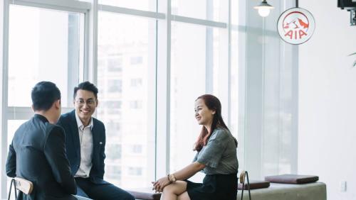 Mỗi nhân sự tại AIA exchange được coi như những doanh nhân với tâm thế làm chủ công việc