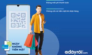 Adayroi khuyến mãi nhân ngày không tiền mặt đầu tiên ở Việt Nam