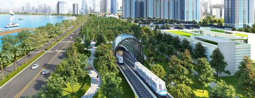 Tuyến Metro hứa hẹn giải tỏa áp lực hạ tầng giao thông, rút ngắn thời gian di chuyển tạiquận 12