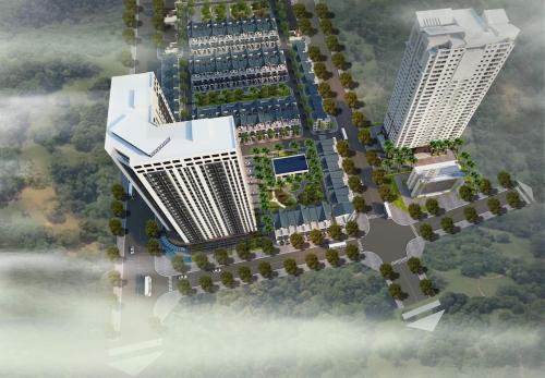 Phối cảnh dự án Thăng Long City tại xã Đại Mỗ.