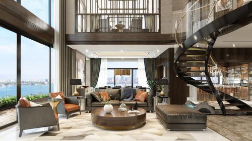 Mỗi căn hộ đều toát lên sự sang trọng, tinh tế và biểu lộ cá tính của chủ nhân.