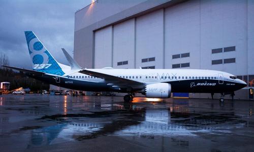 Một máy bay 737 Max 8 trước nhà máy tại Renton (Mỹ) của Boeing. Ảnh: Reuters