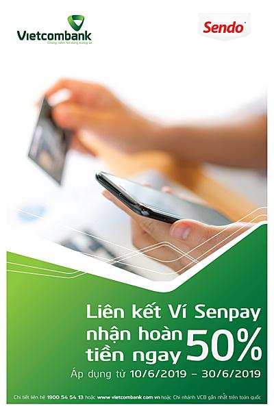 Thể lệ và cách thức đăng ký vui lòng xem tại: https://www.sendo.vn/su-kien/lien-ket-vi-senpay-vietcombank hoặc liên hệ hotline của Sendo: 19006000.