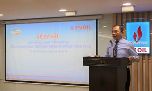 PVOIL đẩy mạnh thanh toán xăng dầu không dùng tiền mặt