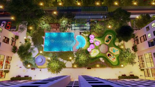 Sân vườn Dream Gardentại Anland Premium.