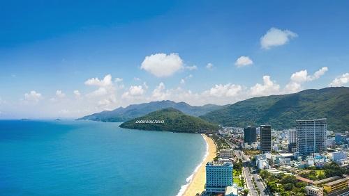 Quy Nhon Melody sở hữu vị trí ngay gần biển.