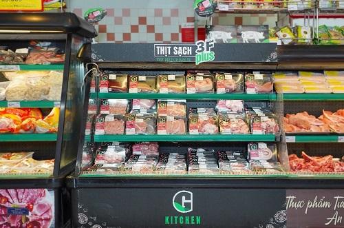 Thương hiệu thịt sạch G hiện có mặt tại nhiều chuỗi siêu thị cao cấp và các nhà hàng 5 sao.