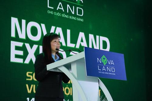 Sáng 14/6, triển lãm Novaland Expo 2019 chính thức khai mạc tại khu nhà mẫu Novaland 26 Mai Chí Thọ, quận 2. Sự kiện kéo dài trong ba ngày, từ 14-16/6.