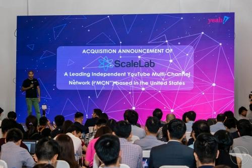 Sự kiện thông báo mua ScaleLab tổ chức đầu tháng 1/2019 tại TP HCM.
