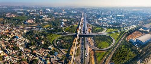 Quận 9 đang trở thành tâm điểm phát triển của khu Đông nhờ yếu tố hạ tầng giao thông.