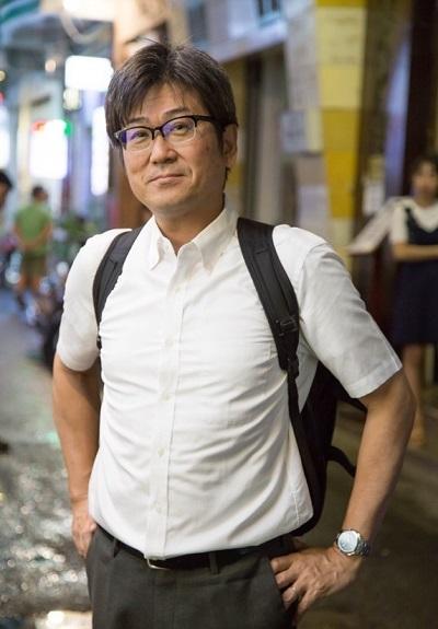 Ông Terry C. (quốc tịch Nhật Bản) đánh giá quận 9 là nơi lý tưởng để làm việc và sinh sống.